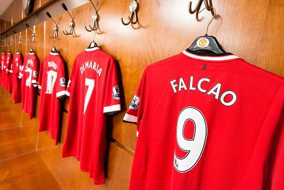 Picture Shirts Of New Manchester United Signings In Dressing Room Old Trafford Faithful