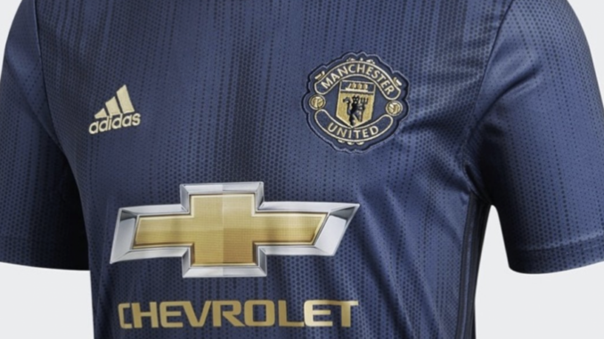 new product f6c97 b3363 Picture: Manchester United 2018/19 third kit leaked - Old ...