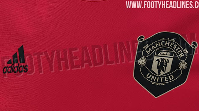 3d3e7d332d90c Pictures: Manchester United 19/20 home kit leaked - Old Trafford ...