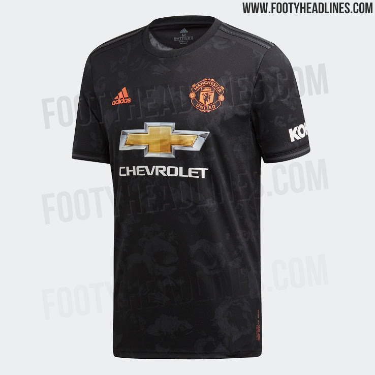 5a5bff435f0 Pictures  Man United third kit for 2019 20 season leaked - Old ...