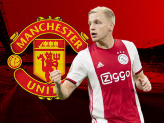 donny van de beek man united shirt number