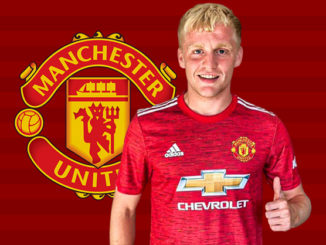 donny van de beek man united line-up xi