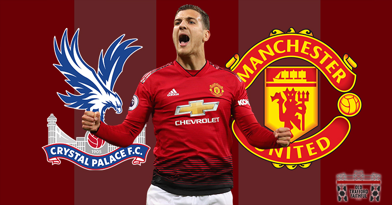 Predicted Man United XI vs Palace (Premier League away ...