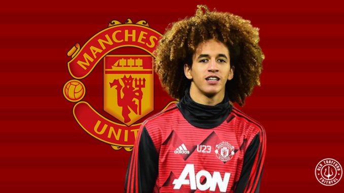 man united midfielder hannibal mejbri