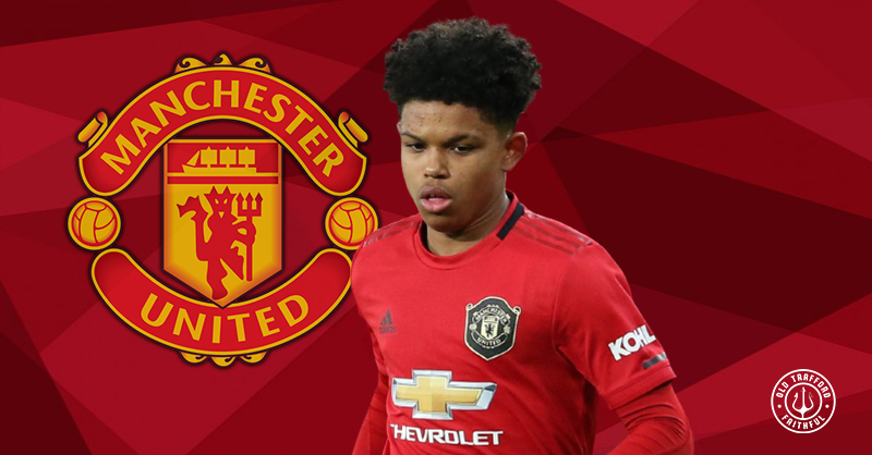 Shola Shoretire signs first pro contract at Man United