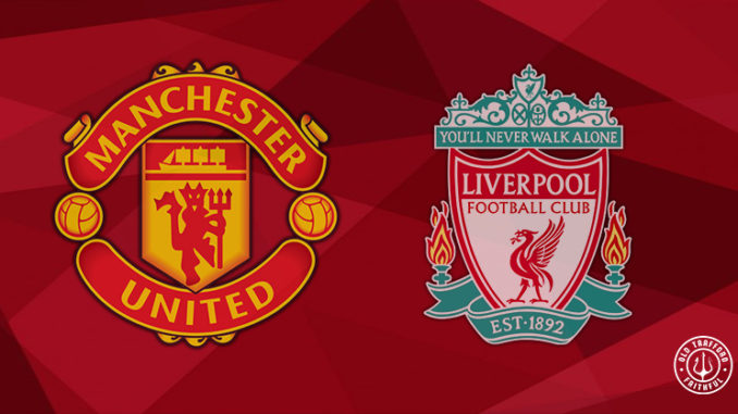 Confirmed Man Utd XI vs Liverpool (Premier League away ...